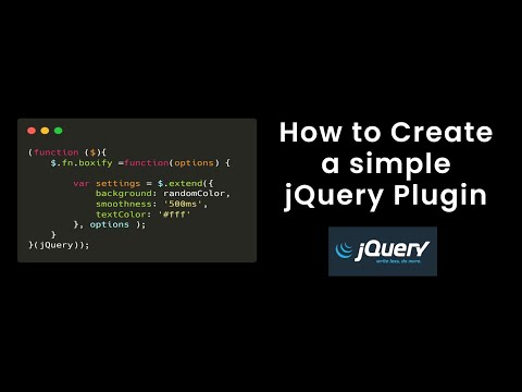 How To Create Jquery Plugin   Change Random Background Color On Page Reload