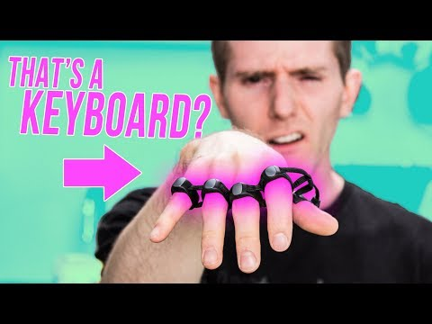 CRAZY Keyboard You WEAR!