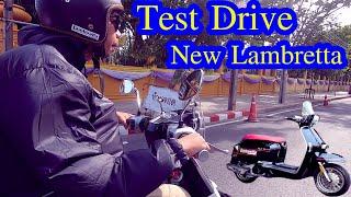 ไปลองขับ New Lambretta ตัวใหม่
