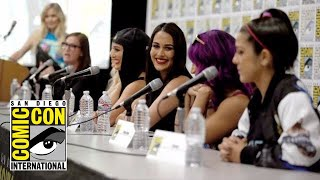 Highlights from WWE Superstars panel at Mattel