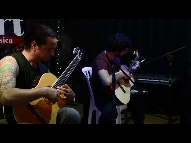 Rafael Ortiz e professor Bruno Pinatti - Prelúdio em D