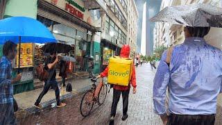 BUENOS AIRES, Argentina — DOWNTOWN Walking Tour - Rain Walk (Narrated)【4K】☂️🇦🇷