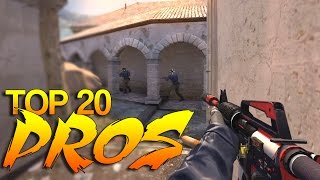 CS:GO - PRO Players of 2015 (Top 20)