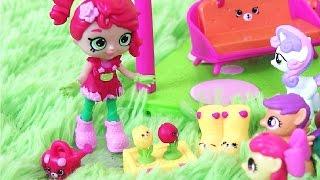 Май Литл Пони Мультик MLP Шопкинс на Русском Puppy Patio! Видео для Детей. Игрушки для Детей