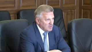 Губернатор провел рабочую встречу с президентом Российского союза промышленников и предпринимателей