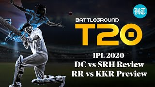 DC vs SRH Review and RR vs KKR Preview on Battleground T20