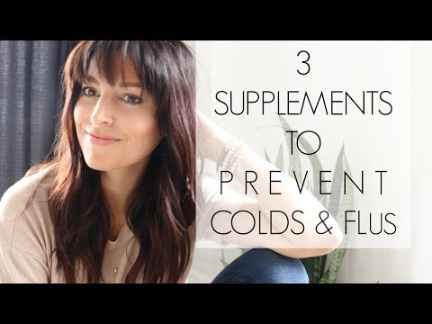 3 Supplements to Prevent Colds and Flus