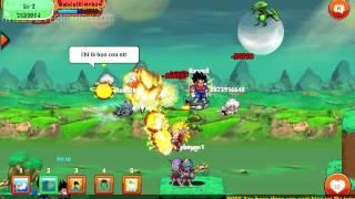 Ngọc Rồng Online-Tiêu Diêt Boss Số 1 2 3 4 Tiêu ĐỘI TRưởng