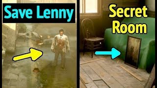 Saving Lenny and Access Hideout Room in Red Dead Redemption 2 (RDR2): Lenny Lives, Success