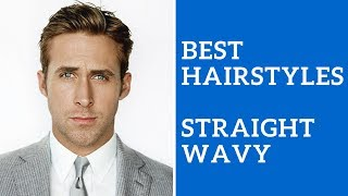 Best Mens Hairstyle For Straight Or Wavy Hair