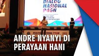 Andre Taulany Nyanyi di Perayaan Hari Anti Narkoba Internasional 2019