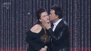 Nghệ sĩ Chí Tài hạnh phúc trước sự xuất hiện bất ngờ của vợ Phương Loan   CA SĨ BÍ ẨN   CSBA HTV
