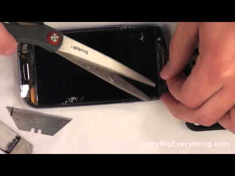 Glass only screen replacement on Samsung GS3. Best to the point video.