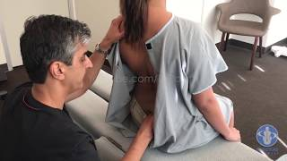 USC Student First Chiropractic Visit - Dr. Rahim Chiropractic