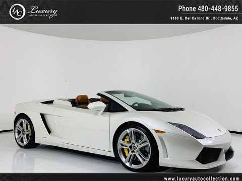 Pre-Owned 2010 Lamborghini Gallardo LP560-4 Spyder