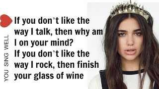 Dua Lipa - Blow Your Mind (Mwah) LYRICS