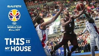Venezuela v Dominican Republic - Highlights - FIBA Basketball World Cup 2019 - Americas Qualifiers
