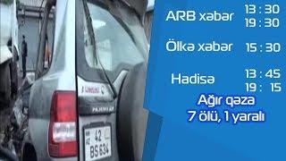 Lenkeranda bas veren dehsetli qezanin goruntuleri - ARB TV