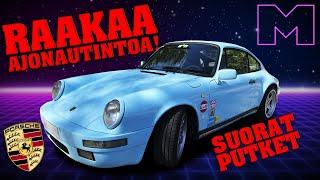 KOEAJOSSA - PORSCHE 911 CARRERA 3.2 G50 -1987 (4K)