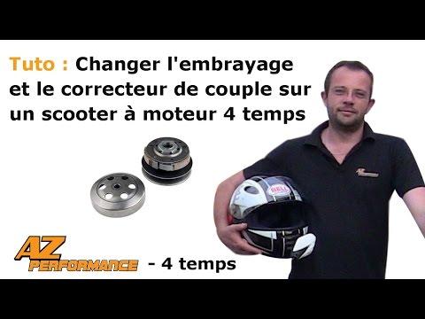 Changer l'embrayage et/ou le correcteur de couple de son scooter de type Gy6 / 139QMB / …