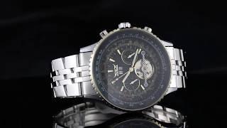 Мужские часы с автоподзаводом Jaragar Luxury. Хит Продаж! от компании Магазин Смарт-Тайм - видео