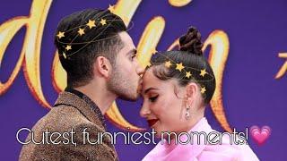 Mena Massoud and Naomi Scott's cutest and funniest moments!/Aladdin 2019