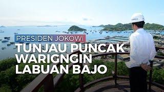 Di Labuan Bajo, Presiden Jokowi Tinjau Puncak Waringin dan Kawasan Terpadu Marina