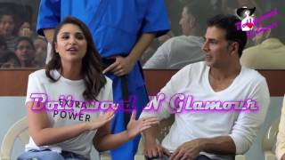 Akshay Kumar, Parineeti Chopra, Aditya Thackeray At The 'Women Self Defence Graduation Day'