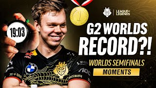 Worlds 2020 : « G2 Worlds Record?! » highlights de la demi-finale des G2 Esports