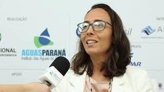 Renata Bley fala sobre o estande Integração pelas Águas
