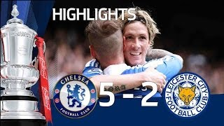 Chelsea 5-2 Leicester - Official Goals And Highlights   FA Cup Sixth Round 18/03/12