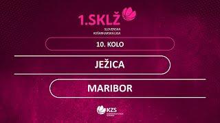 1. SKL (Ž) 10.krog: ŽKD Ježica : ŽKD Maribor 2/4