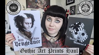 GOTHIC ART PRINTS HAUL - Lily And The Leviathan And The Black Amethyst