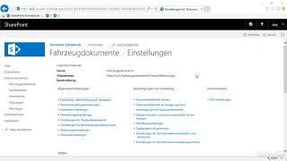SharePoint: Dokumentbibliothek für Dateien nutzen