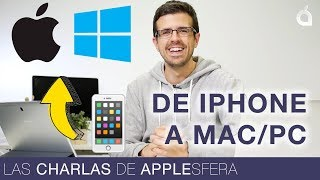 Cómo pasar fotos del iPhone a un PC o un Mac