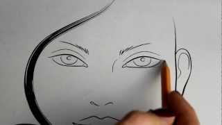 Смотреть онлайн Особенности профессионального макияжа глаз