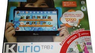 Das Kurio Tab 2 Kinder-Tablet im Test auf spielzeugneuheiten.com