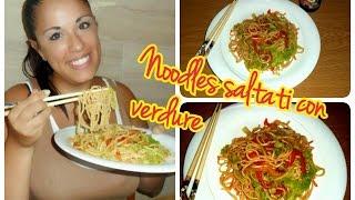 Ricetta NOODLES CON VERDURE