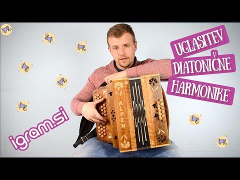 Uglasitev diatonične harmonike