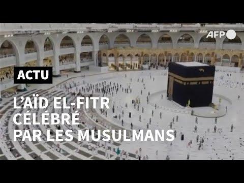 Les musulmans du monde entier fêtent l'Aïd El-Fitr   AFP Les musulmans du monde entier fêtent l'Aïd El-Fitr   AFP