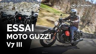 Essai Moto Guzzi V7 III Carbon, Milano & Rough (2018)
