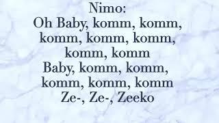 Mon Chéri   Capo & Nimo LYRICS