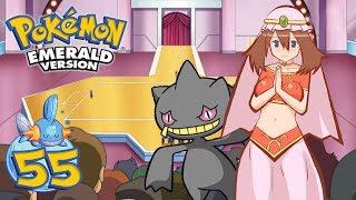 Banette  - (Pokémon) - Pokémon Esmeralda - Cap. 55 [Concursos] ¡El maestro del ingenio, el sabio Banette!