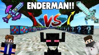ENDER VS ELEKTRİKLİ ŞANS BLOKLARı - Minecraft