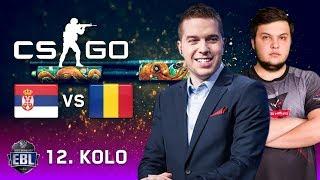 EBL CS:GO LIGA [20.000 EUR] - 12. kolo - Bajini Puleni (Srbija) vs Sinners (Rumunija)