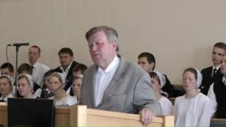 Ричард Циммерман - Проповедь (в Нарве)