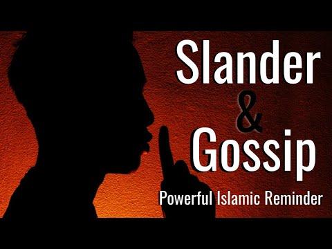 SLANDER & GOSSIP - Sh. Sohaib Hussain