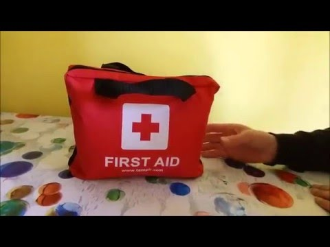 Kit di primo soccorso da viaggio oltre 100 pezzi by TempIR