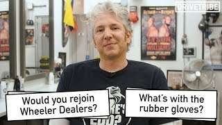 Edd China reveals why he'd never rejoin Wheeler Dealers in a barbershop