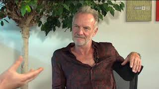 Wanda Trifft Sting (official Interview 2019)